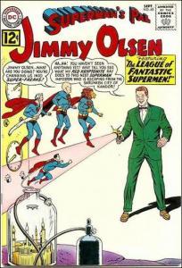 DC SUPERMAN'S PAL JIMMY OLSEN #63 GD-