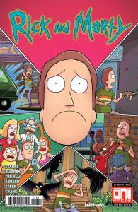 RICK and MORTY #36, 1st, NM, Grandpa, Oni Press, from Cartoon 2015,more in store