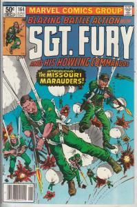 Sgt. Fury and His Howling Commandos #164 (Jun-80) NM- High-Grade Sgt. Fury, H...