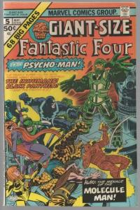 FANTASTIC FOUR GS   5 FN  May 1975
