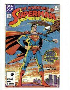 12 Adventures of Superman DC Comics 424 425 426 427 428 429 430 432 433 + HG1
