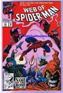 WEB of SPIDER-MAN #84, NM-, HobGoblin, Kingpin, 1985, more SM in store