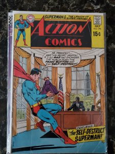 Action 390 GD/VG-- Reader Copy