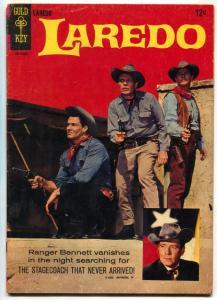Laredo #1 1966-Gold Key TV-Neville Brand-Peter Brown-Texas Rangers-VG