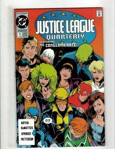 12 DC Comics Justice League Quarterly 1 2(2) 3 4 5 6 8 9 Wonder Woman + HG3