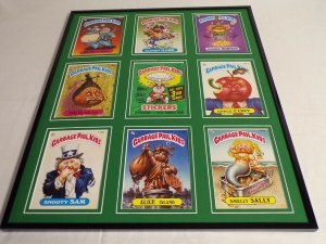 Garbage Pail Kids Series 3 Framed 16x20 Display Snooty Sam Alice Island
