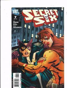 Lot of 3 Secret Six DC Comic Books #7 10 11 KS3