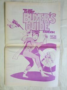 BUYERS GUIDE #16 Bill Black Capt Marvel Jr cvr 1972