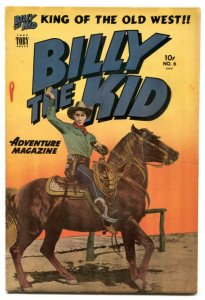 Billy The Kid #6 1951-Toby-photo cover-FN+