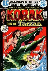 Korak: Son of Tarzan (1972 series) #47, Fine+ (Stock photo)