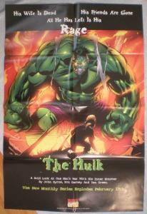 HULK Promo poster,RAGE, 24 x 36, 1999, Unused, more in our store