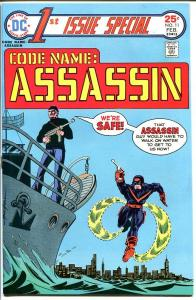 1ST ISSUE SPECIAL #11-CODE NAME ASSASSIN-HIGH GRADE VF/NM