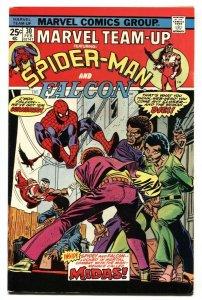 Marvel Team-up #30 1975 Spider-Man and Falcon VF