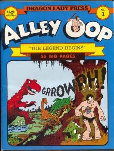 Alley Oop #1 1987-Dragon Lady press-1st issue-origin-VT Hamlin-1933-1934-NM