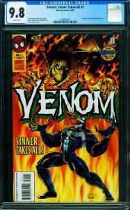 Venom: Sinner Takes All #1 CGC 9.8-First issue-1995 1240659011
