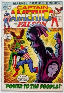 CAPTAIN AMERICA #143 Early Falcon Appearance Bronze Marvel