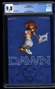 Dawn (1995) #3 CGC NM/M 9.8 White Pages