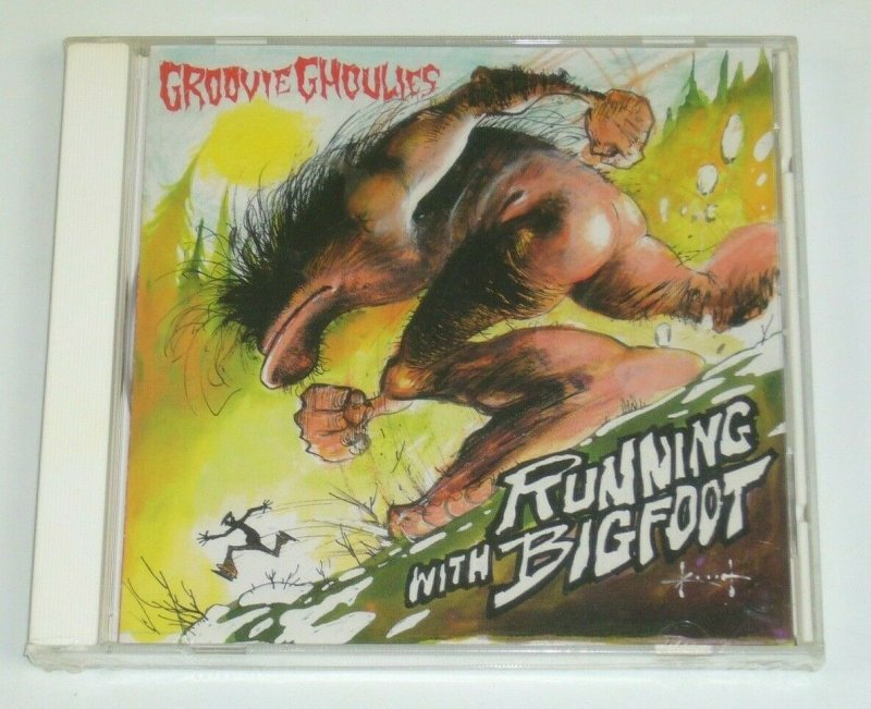 Groovie Ghoulies Running With Bigfoot CD SAM KIETH