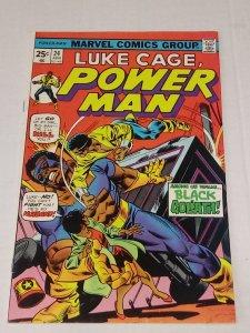 Luke Cage, Power Man #24 (VF+) ID#45A