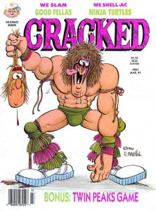 Cracked #261 VG; Globe | low grade comic - save on shipping - details inside