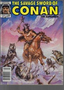 Savage Sword of Conan #136 (Marvel, 1987)