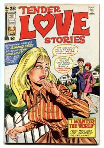 Tender Love Stories #2 1971 Skywald-Lingerie Panels-Romance cvr