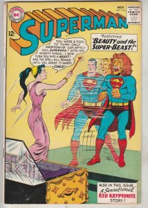 Superman #165 (Nov-63) VF- High-Grade Superman, Jimmy Olsen,Lois Lane, Lana L...