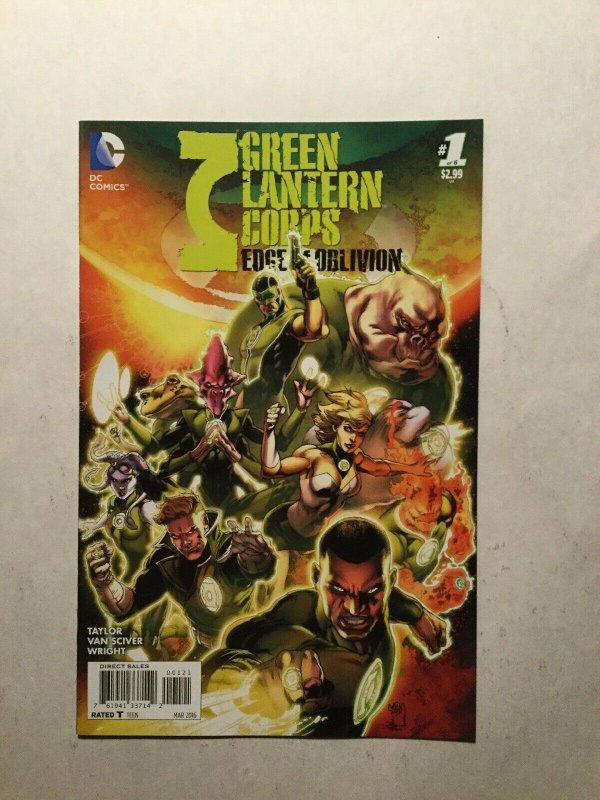 Green Lantern Corps Edge Of Oblivion 1 Variant Near Mint Nm Dc Comics