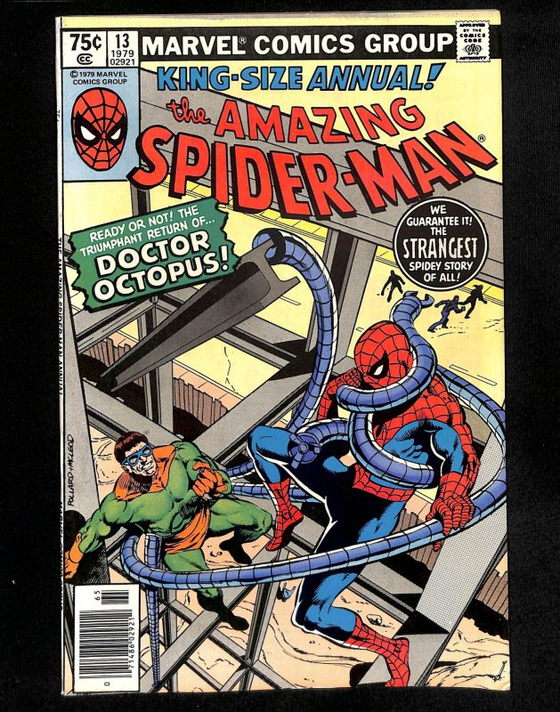 Amazing Spider-Man Annual #13 Doctor Octopus!