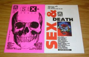 Sex & Death #1 VF/NM anthology one-shot + variant - wendy snow-lang - pia guerra