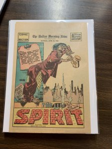 The Spirit Comic Book Section Newspaper Very Fine Or Better 1942 June 28