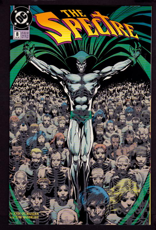 Spectre #8 (1992 Series)   9.4 NM