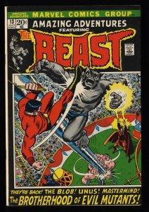 Amazing Adventures #13 VF 8.0 Beast! Brotherhood of Evil Mutants!