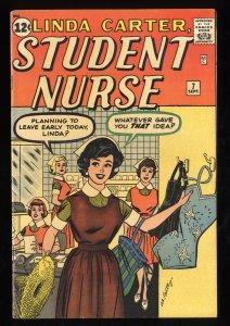 Linda Carter, Student Nurse #7 FN/VF 7.0