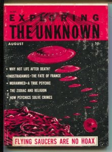 Exploring The Unknown #4 8/1960-flying saucer-UFO's-Gypsy-ESP-pulp mystery-FN