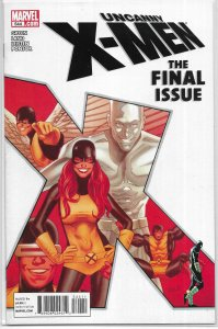 Uncanny X-Men   vol. 1   #544 FN (final issue) Gillen/Land