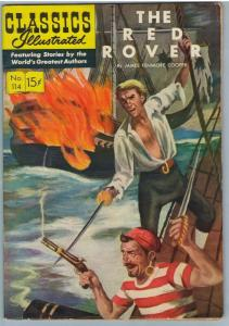 Classics Illustrated 114 (original) Dec 1953 FI+ (6.5)