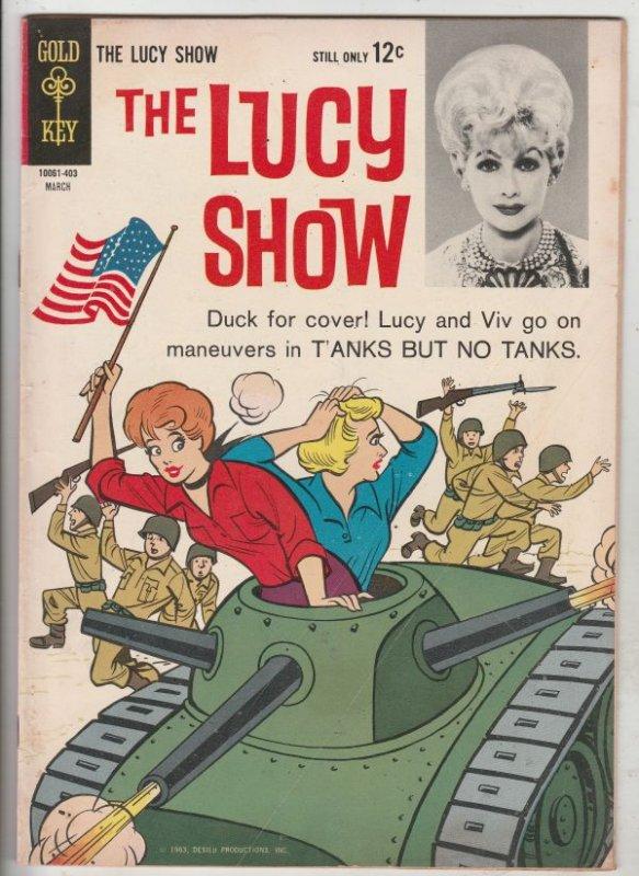 Lucy Show, The #4 (Mar-64) FN+ Mid-High-Grade Lucy Ricardo, Ethel Mertz