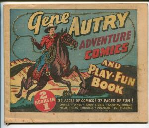 Gene Autry Adventure 1947-32 pages-comics-games-puzzles-VG