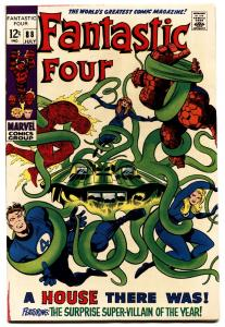 FANTASTIC FOUR #88-JACK KIRBY-MARVEL-LAST 12 CENT ISSUE VF+
