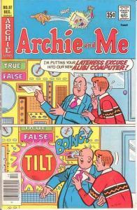 ARCHIE & ME (1964-1987)97 VF-NM   December 1977 COMICS BOOK
