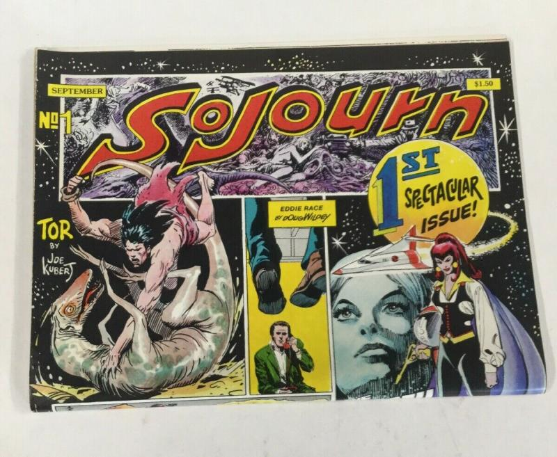 Sojourn 1 Tor By Joe Kubert SC Oversized B30
