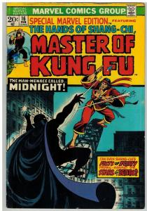 MASTER OF KUNG FU 16 G-VG Feb. 1974 COMICS BOOK