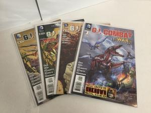 G.I. Combat 1-4 Lot Set Run Nm Near Mint DC Comics A49