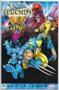 X-Men Legends Poster Book   #nn FN