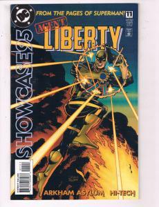 Showcase 95: Agent Liberty #11 VF DC Comics Comic Book Nov 1995 DE23