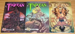 Tarzan: Love, Lies and the Lost City #1-3 VF/NM complete series malibu comics