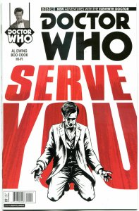 DOCTOR WHO #9 A, NM, 11th, Tardis, 2014, Titan, 1st, more DW in store, Sci-fi