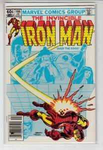 IRON MAN (1968 MARVEL) #166 FN/VF A19551