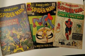 Amazing Spiderman Silver! 19 1st MacGargan, 27 5th GrGoblin, 35 2nd Molten Man!